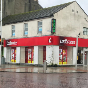 Ladbrokes, at the junction of Sinclair Street and Princes Street, Helensburgh