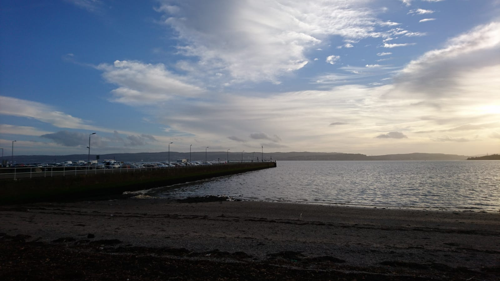 Helensburgh pier, photographed in October 2018