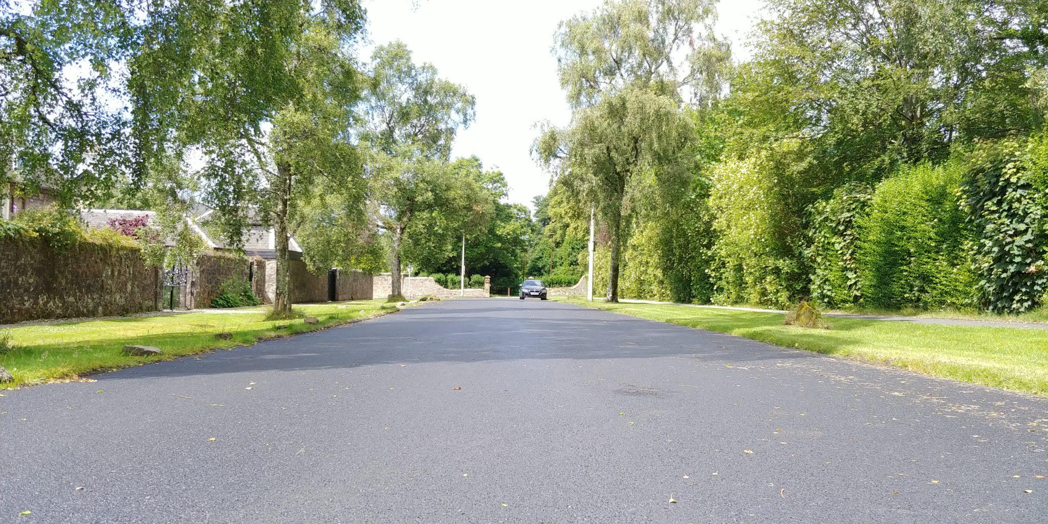 Grant Street resurfaced